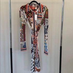 Tory Burch tie waist dress